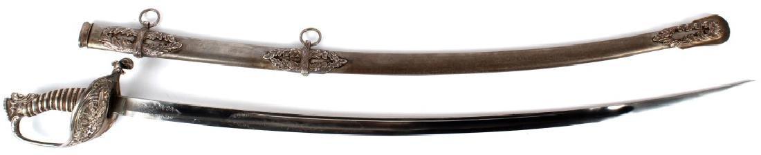 US CIVIL WAR PRESENTATION SWORD MICHIGAN CAVALRY