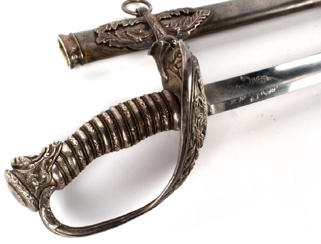 US CIVIL WAR PRESENTATION SWORD MICHIGAN CAVALRY - 2