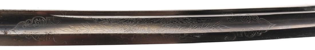 US CIVIL WAR PRESENTATION SWORD MICHIGAN CAVALRY - 3
