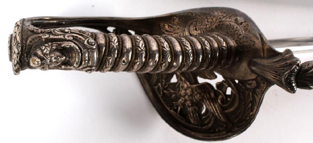 US CIVIL WAR PRESENTATION SWORD MICHIGAN CAVALRY - 5