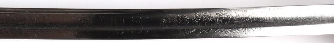 CIVIL WAR PRESENTATION SWORD OF GEORGE HENRY HOYT - 8