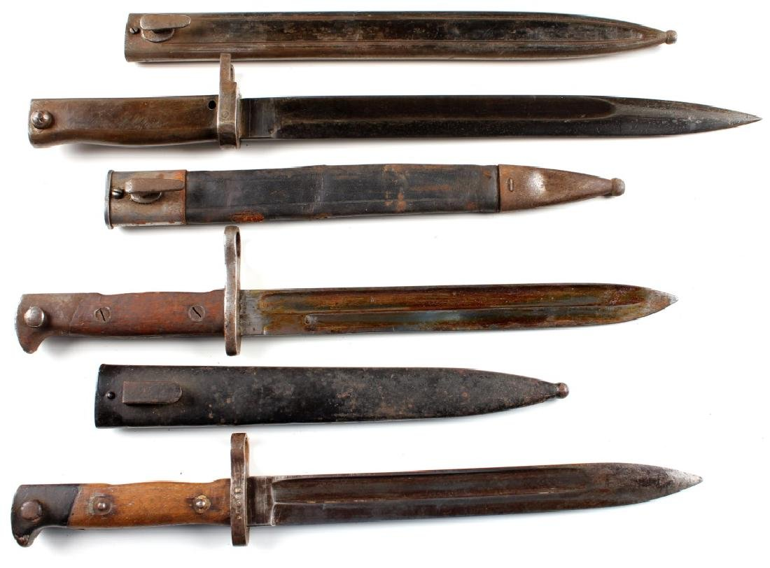 GERMAN BAYONET LOT OF 3