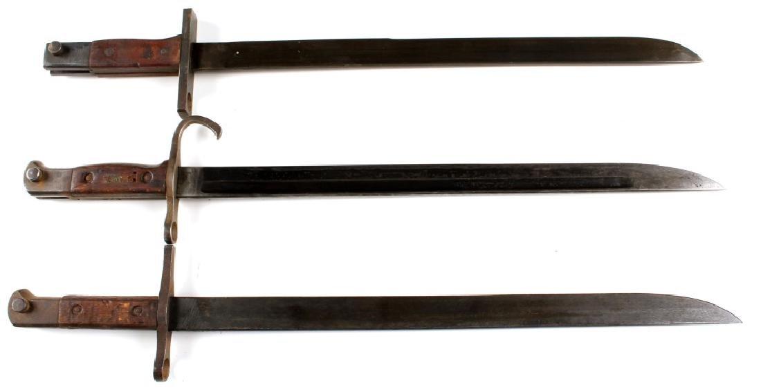 WWII JAPANESE ARISAKA BAYONET LOT OF 3 - 3