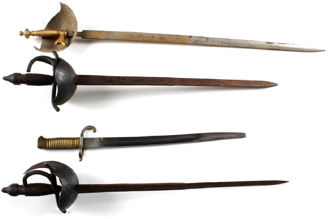 MINI SWORD AND BAYONET LOT OF 4 - 3