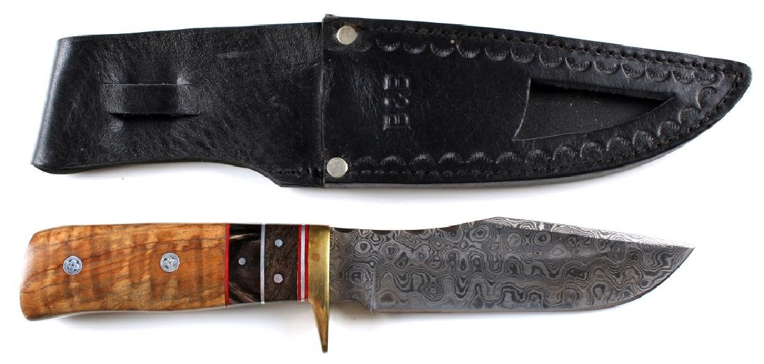 CUSTOM DAMASCUS BLADE KNIFE