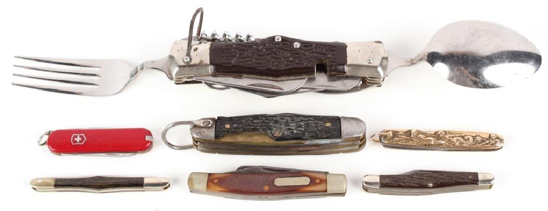 POCKET KNIFE LOT OF 7
