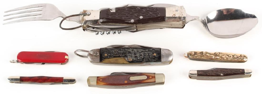 POCKET KNIFE LOT OF 7 - 5