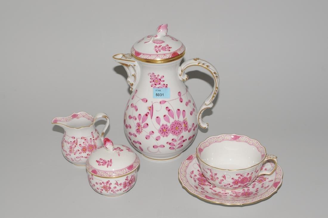 Tee/Kaffeeservice, Meissen 20.Jh. Porzellan, Dekor