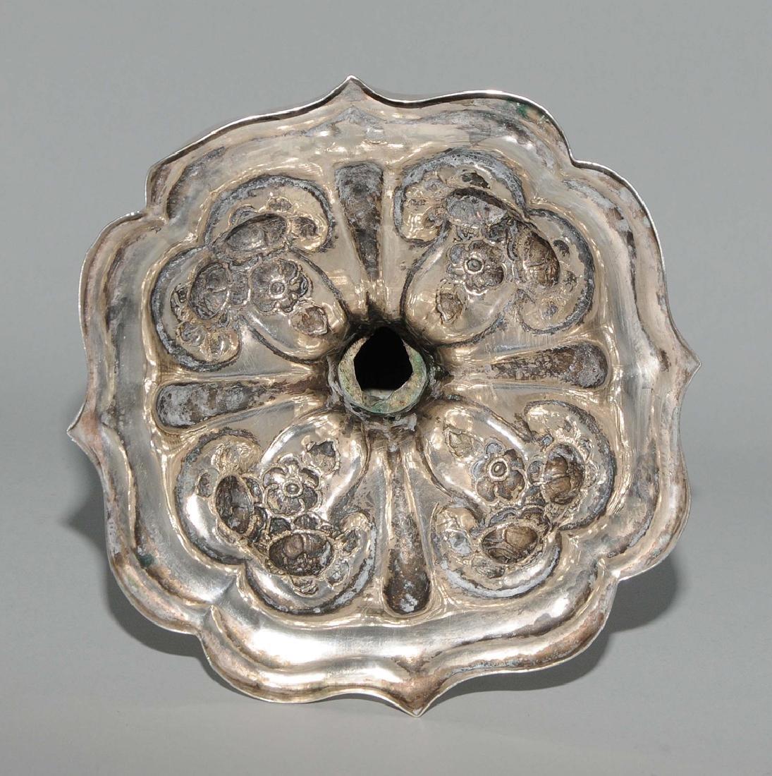 Girandole Wien, 1861, Silber. Meistermarke TD, wohl - 7