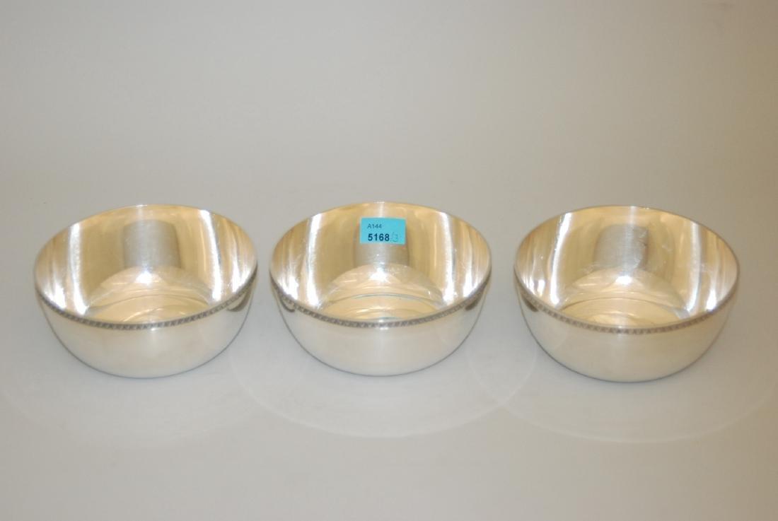 Lot: 3 Bowls Schaffhausen, 20.Jh. Silber. Marke Jezler.
