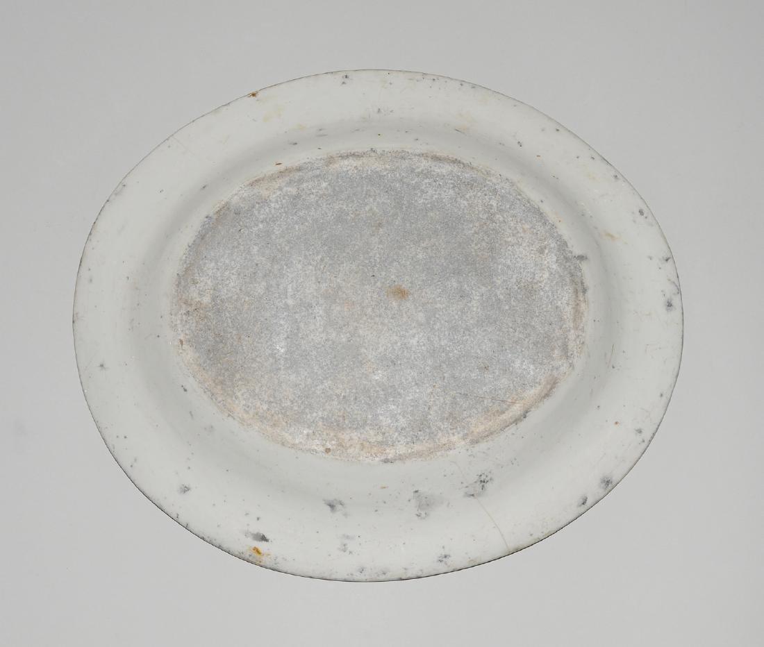 Zierplatte Keramik, polychrom bemalt und mit Gold - 9