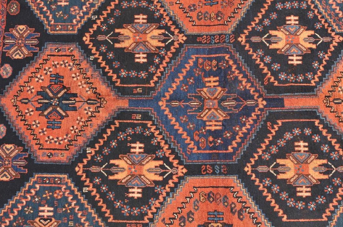 *Afshar S-Iran, um 1910. Auf nachtblauem Grund teilen - 2