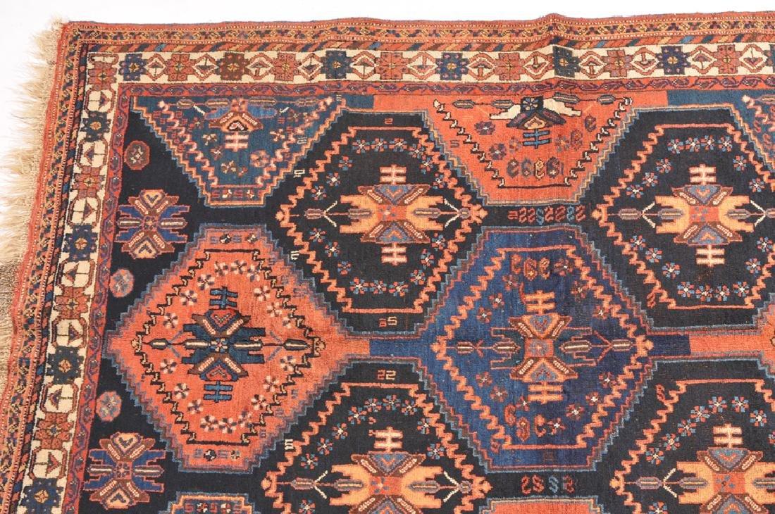 *Afshar S-Iran, um 1910. Auf nachtblauem Grund teilen - 3