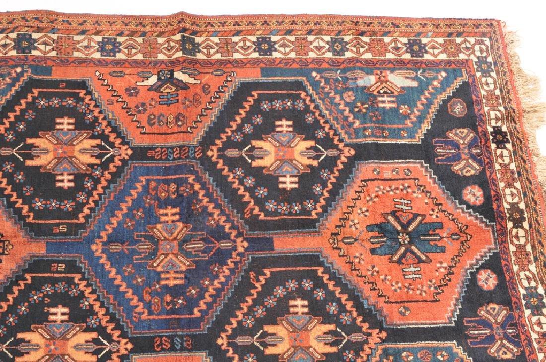 *Afshar S-Iran, um 1910. Auf nachtblauem Grund teilen - 4