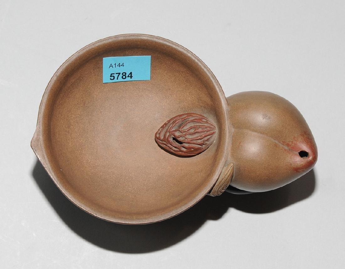 Pinselwäscher China, 20.Jh. Yixing-Keramik. In Form - 5