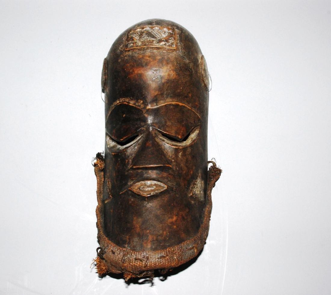 Maske Im Stil der Kuba, D.R. Kongo. Holz. H 34 cm.