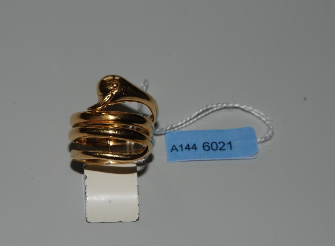 Ilias Lalaounis Ring Griechenland. 750 Gelbgold.