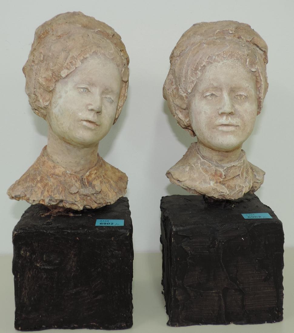 Brem, Rolf (Luzern 1926–2014 Luzern) Zwei Frauenköpfe.