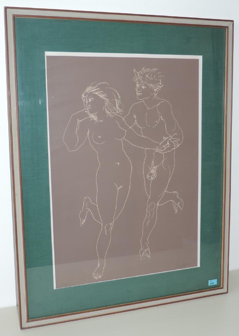 """Erni, Hans (Luzern 1909–2015 Luzern) """"Faun und"""