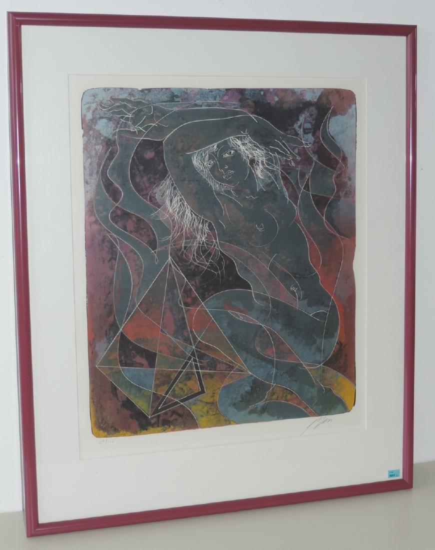 """Erni, Hans (Luzern 1909–2015 Luzern) """"Feuer"""", """"Wasser"""","""