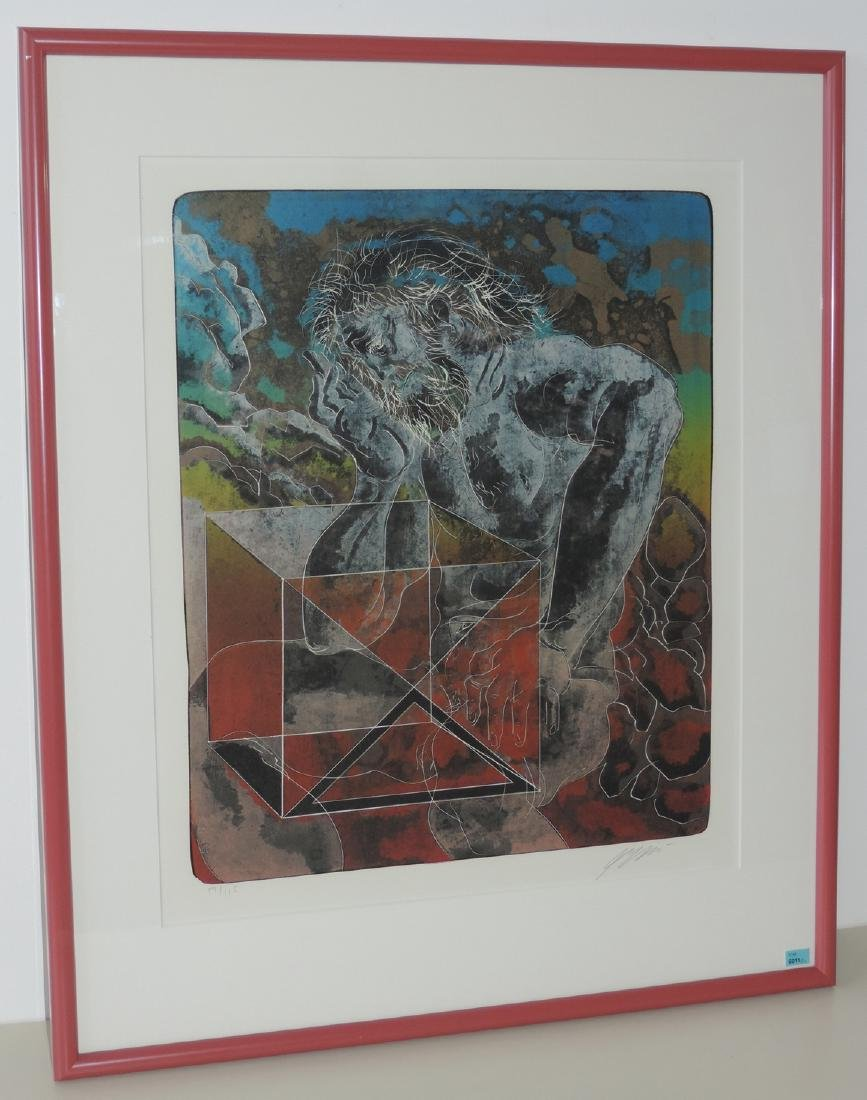 """Erni, Hans (Luzern 1909–2015 Luzern) """"Feuer"""", """"Wasser"""", - 2"""
