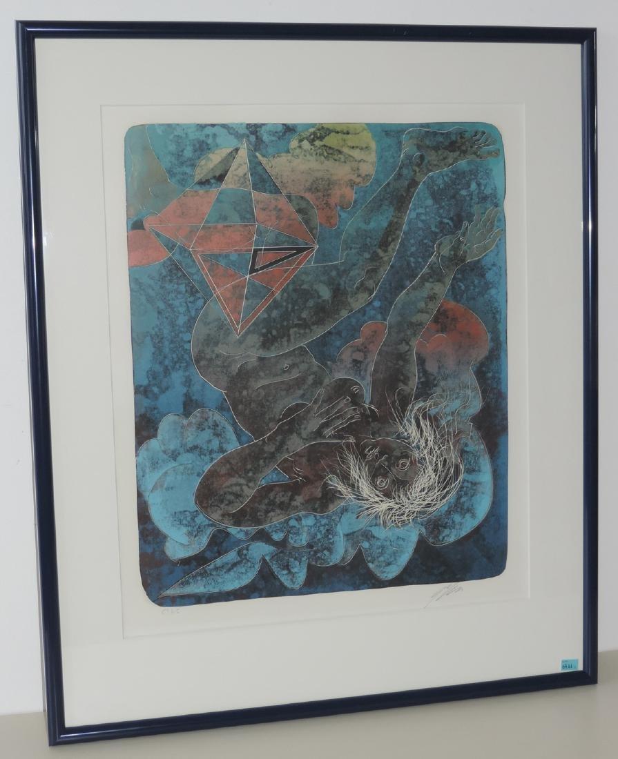"""Erni, Hans (Luzern 1909–2015 Luzern) """"Feuer"""", """"Wasser"""", - 3"""