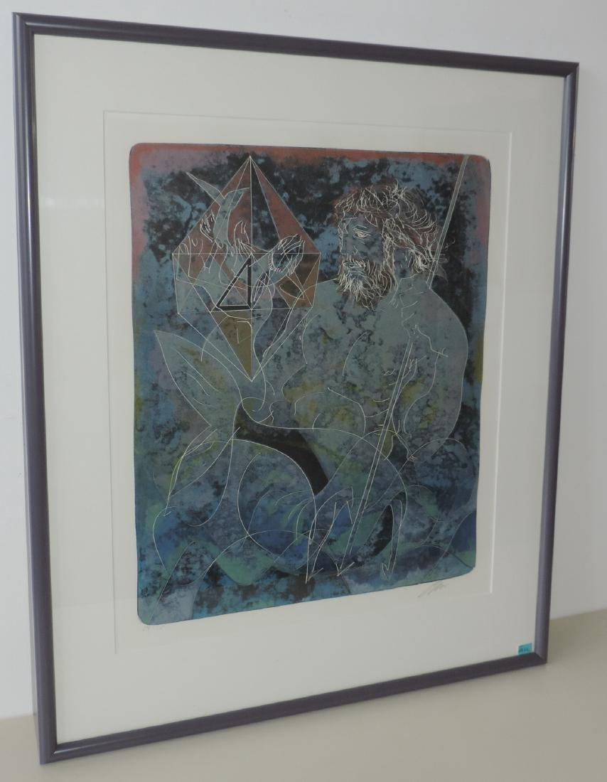"""Erni, Hans (Luzern 1909–2015 Luzern) """"Feuer"""", """"Wasser"""", - 4"""