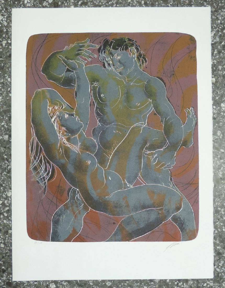 """Erni, Hans (Luzern 1909–2015 Luzern) """"Wasser"""", """"Luft"""", - 2"""