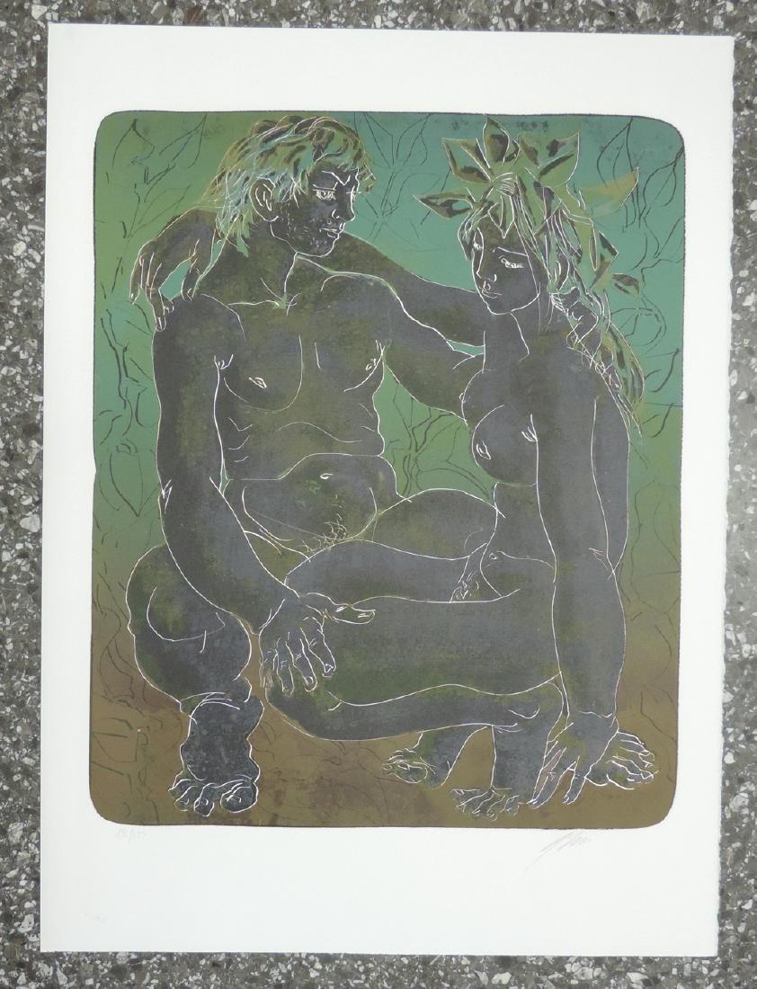 """Erni, Hans (Luzern 1909–2015 Luzern) """"Wasser"""", """"Luft"""", - 3"""