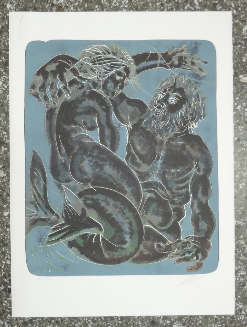 """Erni, Hans (Luzern 1909–2015 Luzern) """"Wasser"""", """"Luft"""", - 4"""