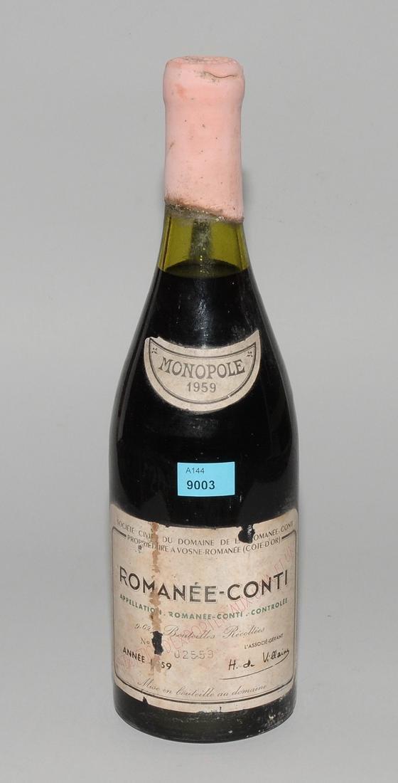 Romanée Conti 1959. Grand Cru, Domaine de Romanée-