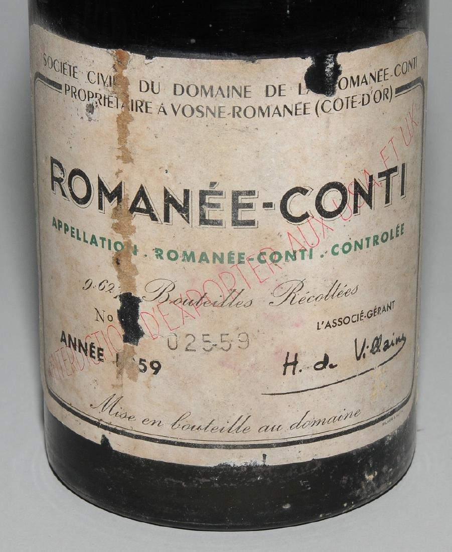 Romanée Conti 1959. Grand Cru, Domaine de Romanée- - 3
