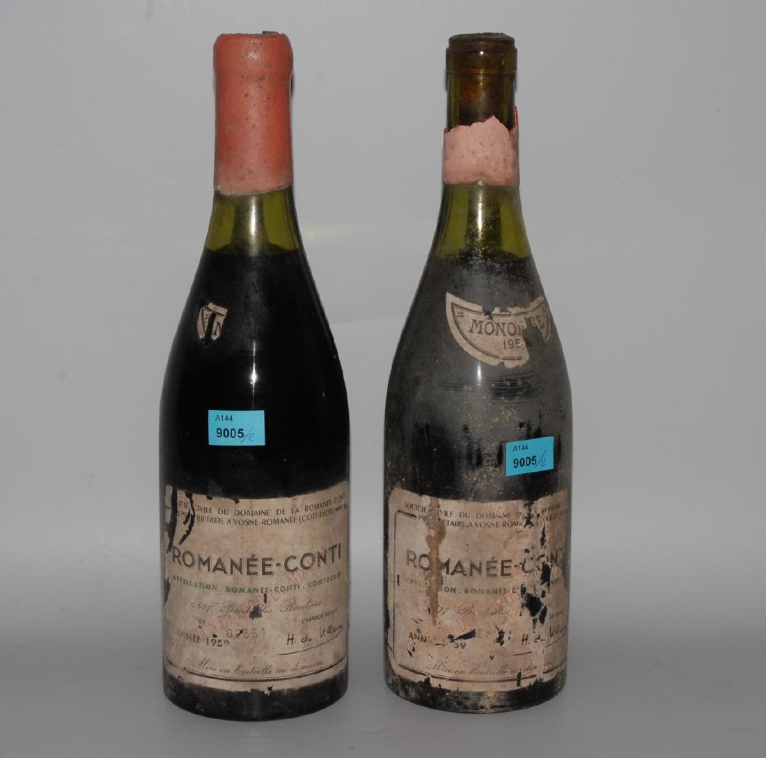 Romanée Conti 1959. Grand Cru. Cote de Nuits. Domaine