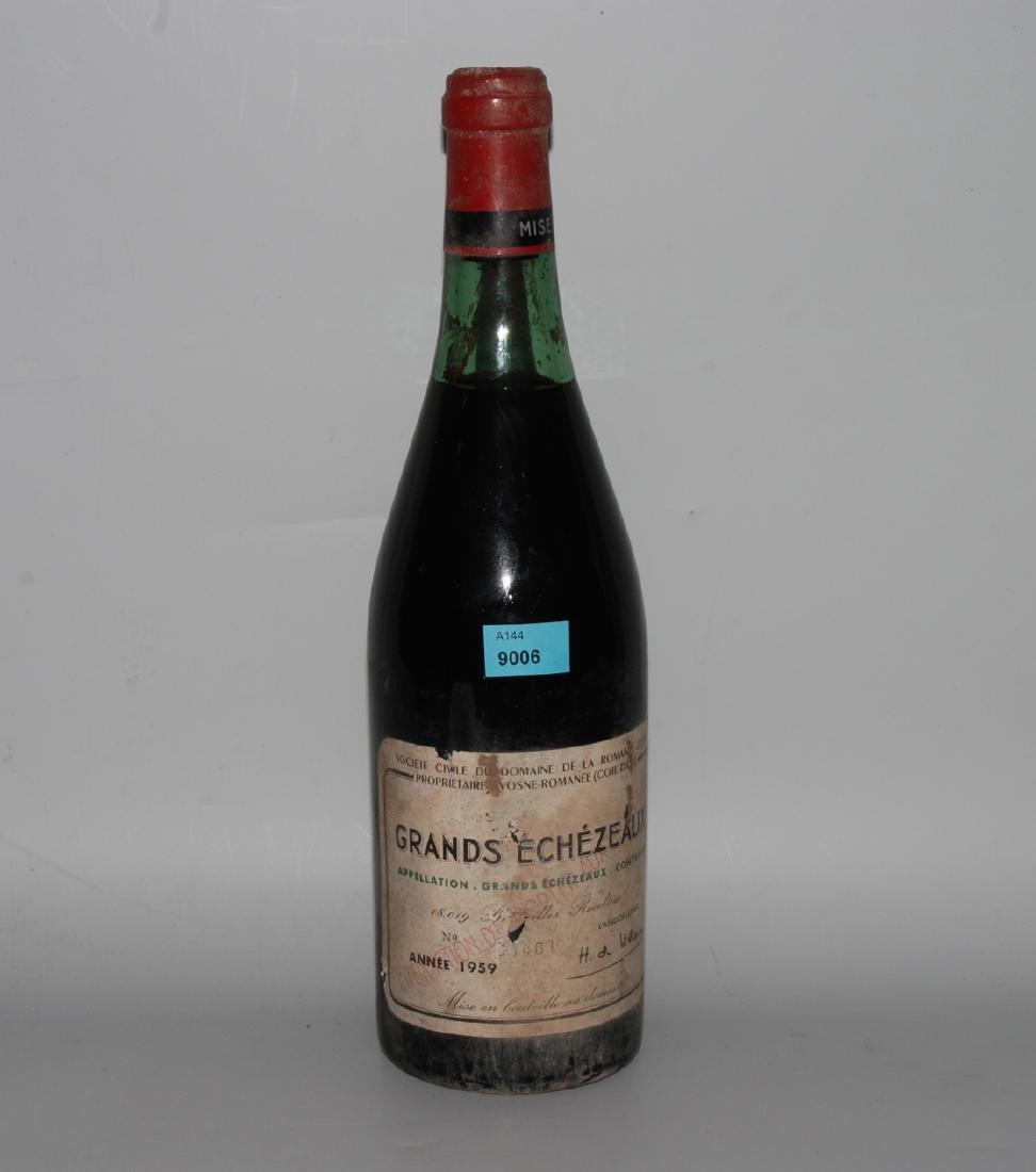 Grands Echezeaux 1959. Grand Cru. Cote de Nuits.