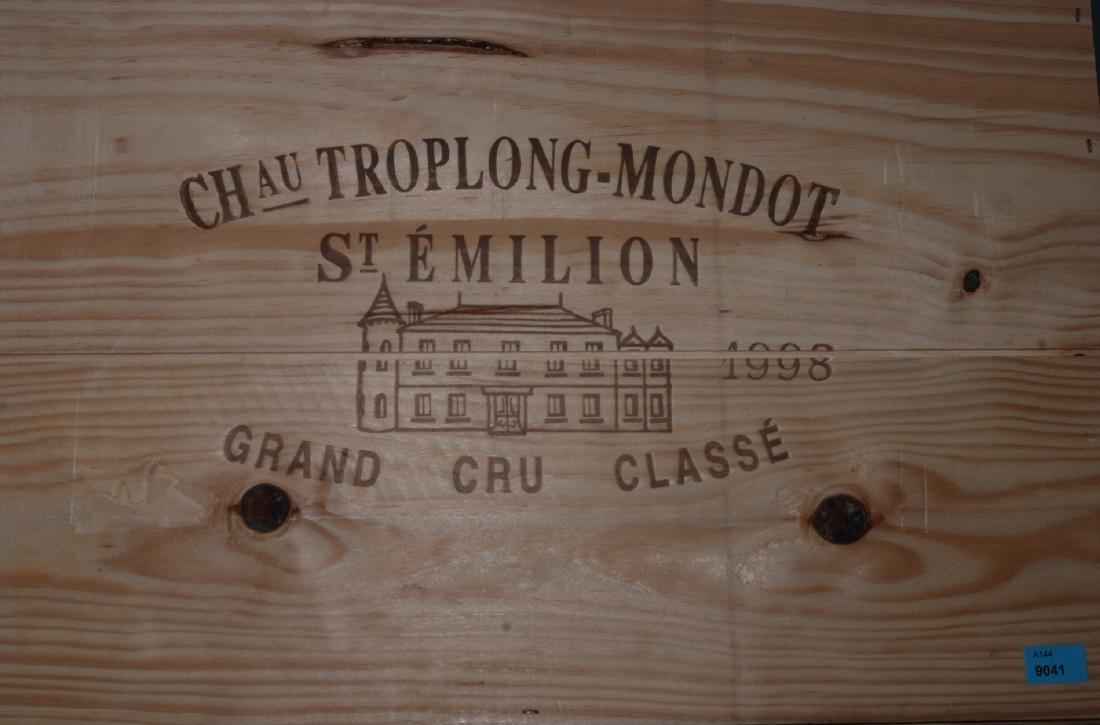 Chateau Troplong Mondot 1998. Grand Cru St.Emilion.