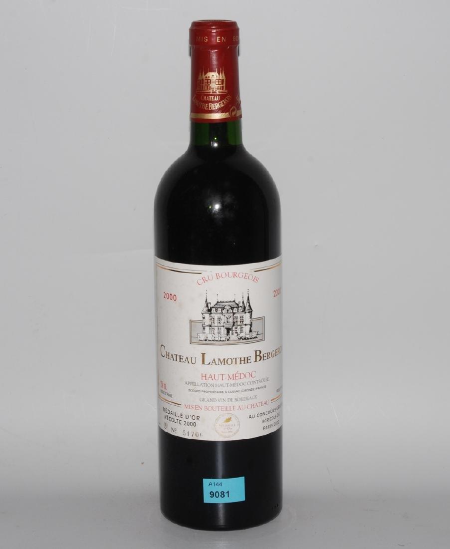 Sammelnr. Bordeaux Chat. Lamothe Bergeron, 00
