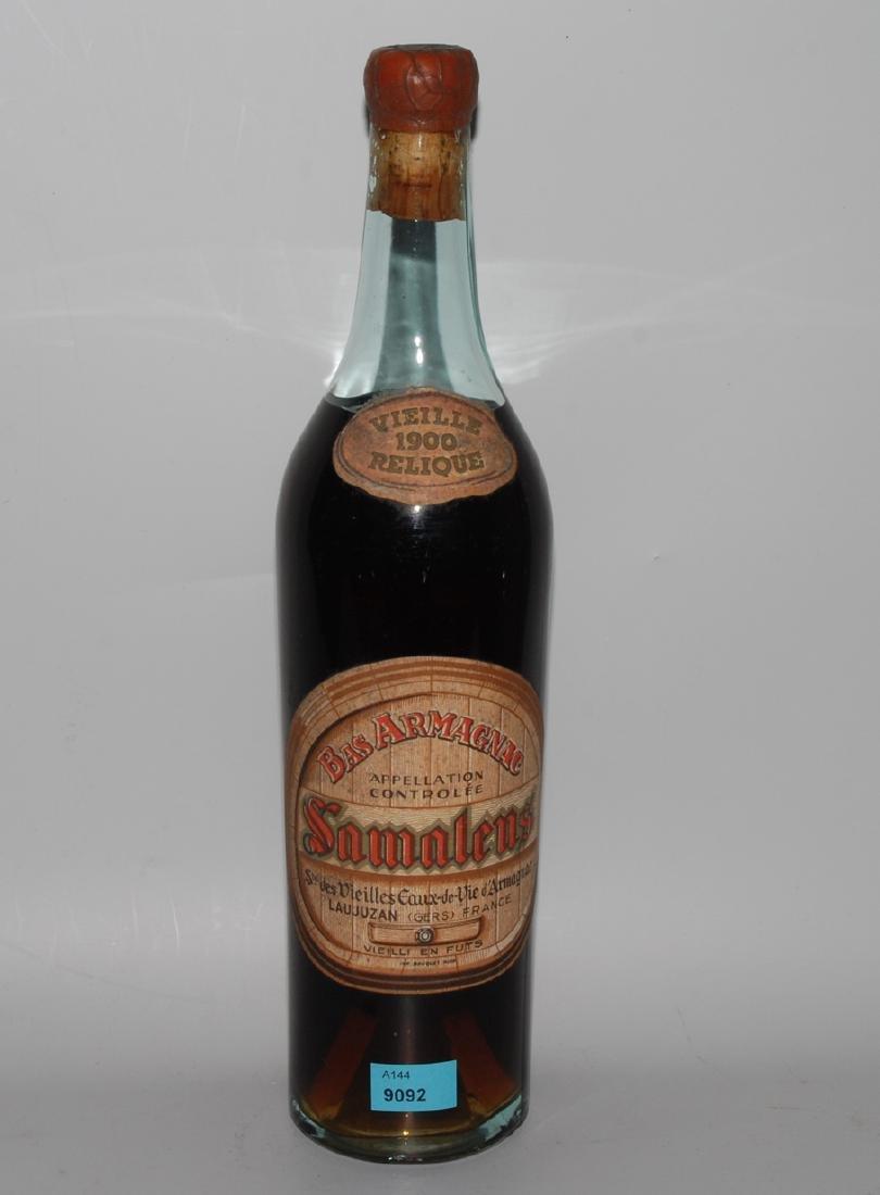 Bas Armagnac Samalens, 1900 vielle Relique, Gers. 40%.
