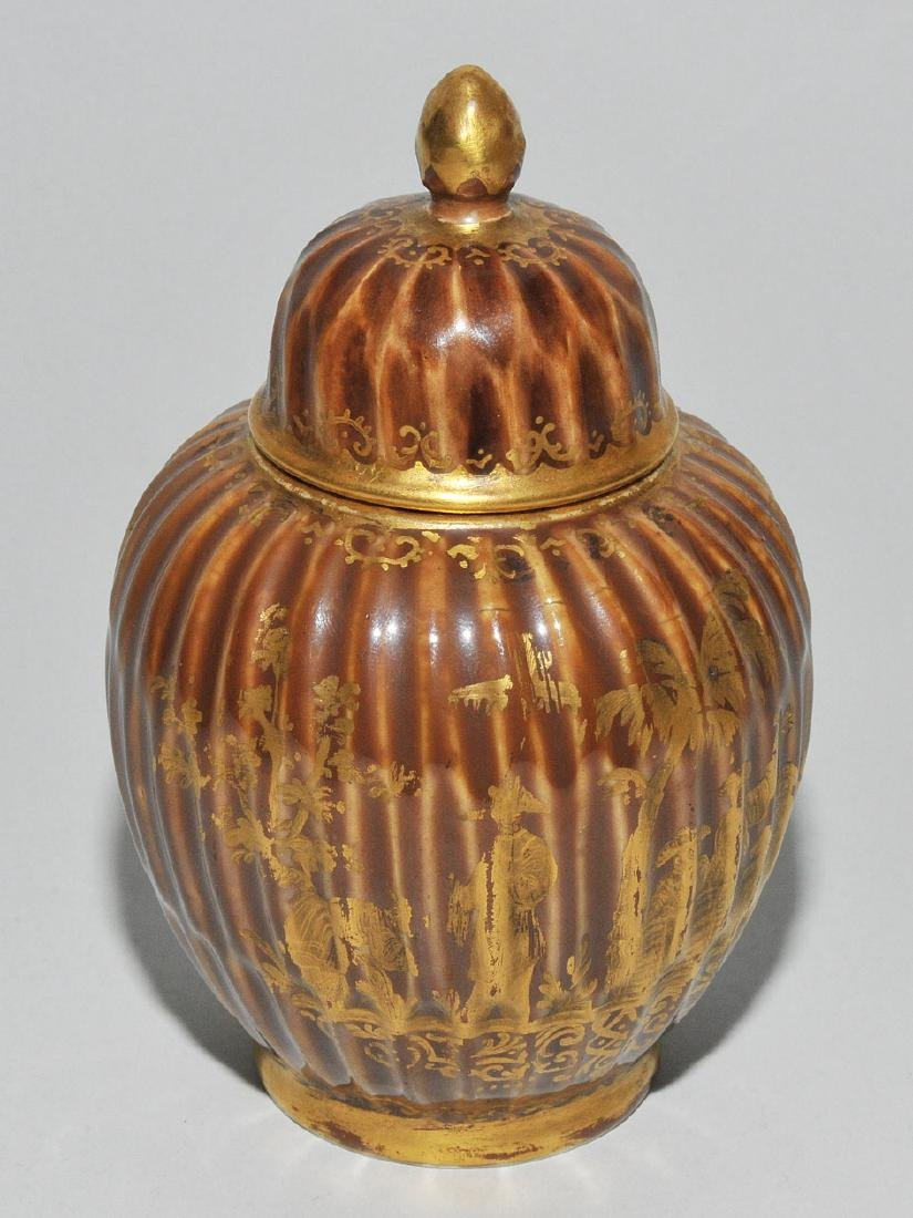 Deckeldose, Porzellan Meissen Um 1730 (Porzellan). - 2