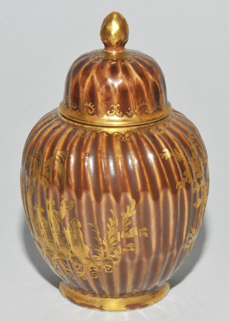 Deckeldose, Porzellan Meissen Um 1730 (Porzellan). - 3