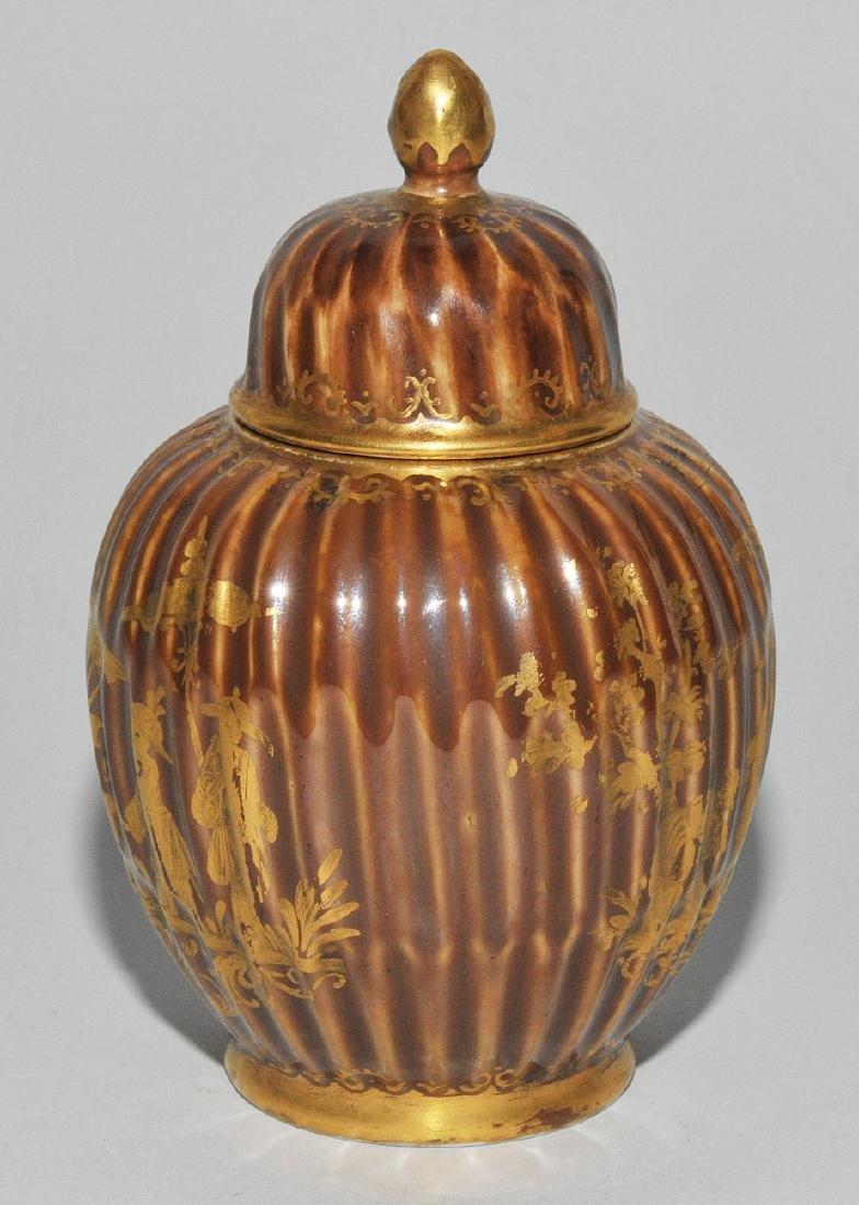 Deckeldose, Porzellan Meissen Um 1730 (Porzellan). - 5