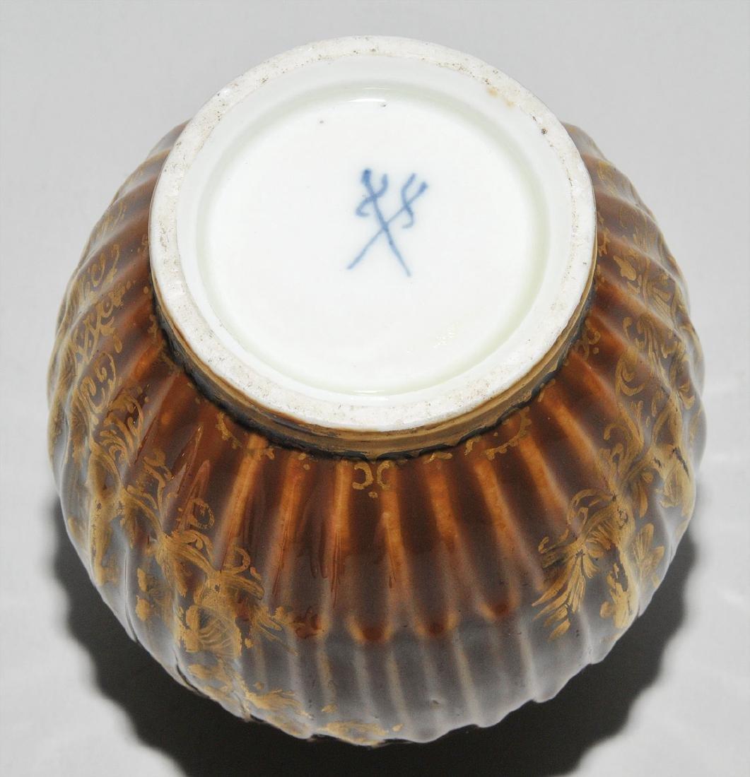 Deckeldose, Porzellan Meissen Um 1730 (Porzellan). - 7