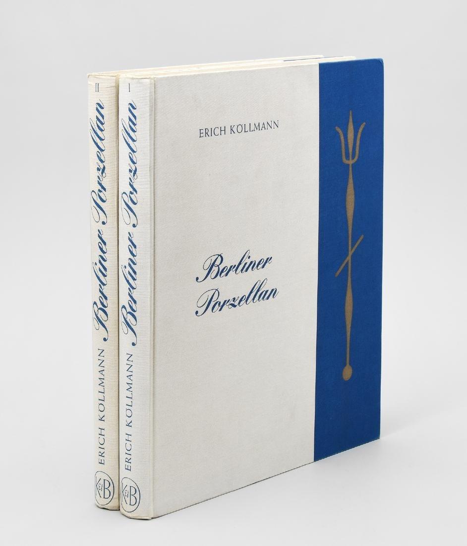 Fachliteratur Köllmann, Erich, Berliner Porzellan, 2