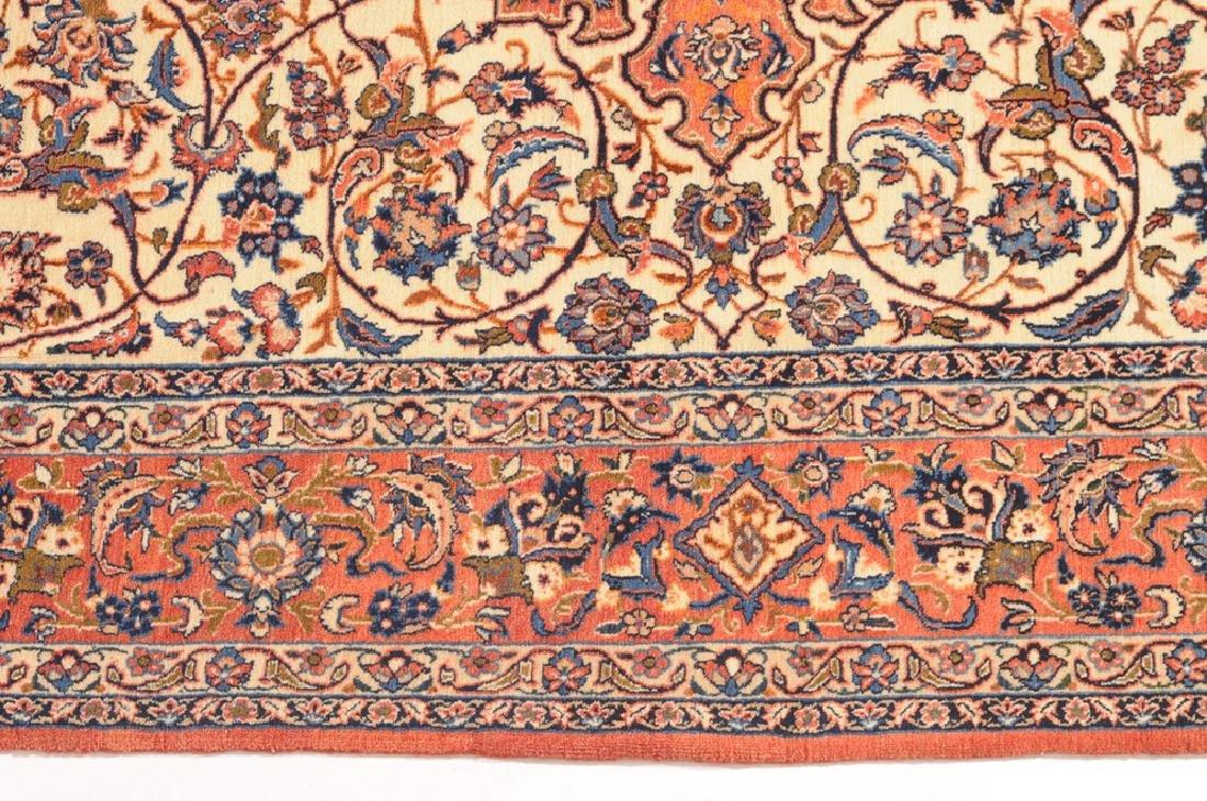 Isfahan Z-Iran, um 1910. Kette aus Seide. Auf weissem - 4