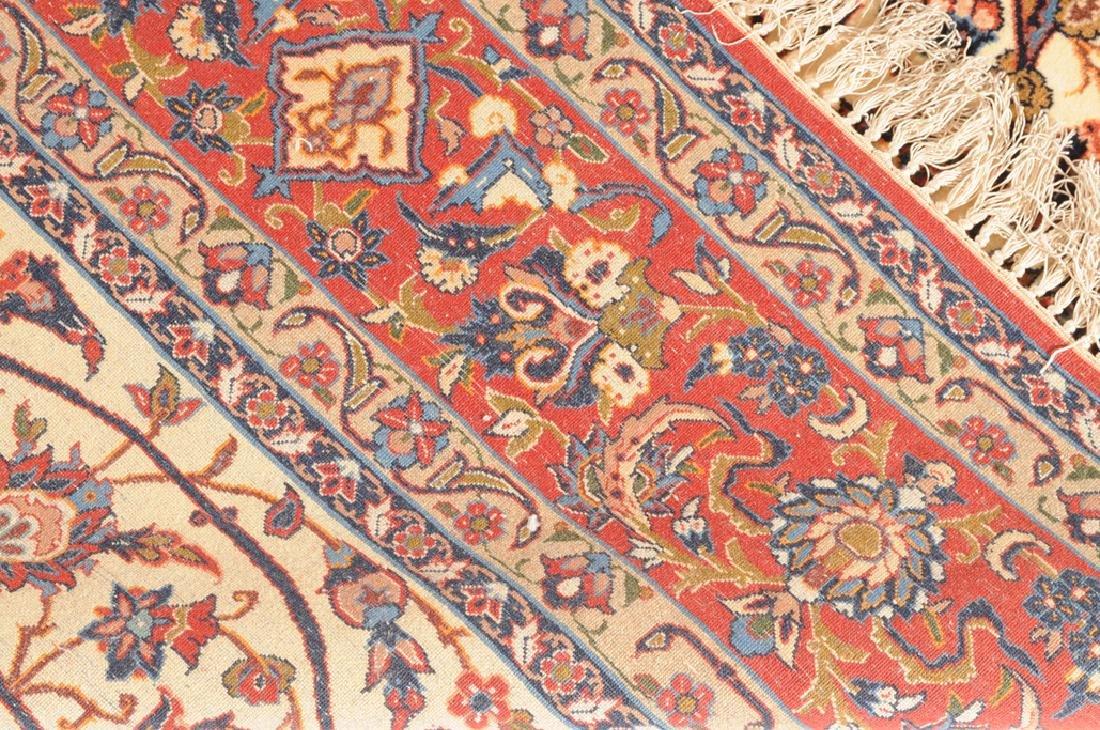 Isfahan Z-Iran, um 1910. Kette aus Seide. Auf weissem - 6
