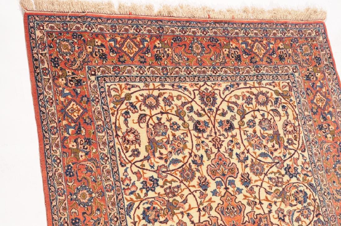 Isfahan Z-Iran, um 1910. Kette aus Seide. Auf weissem - 8