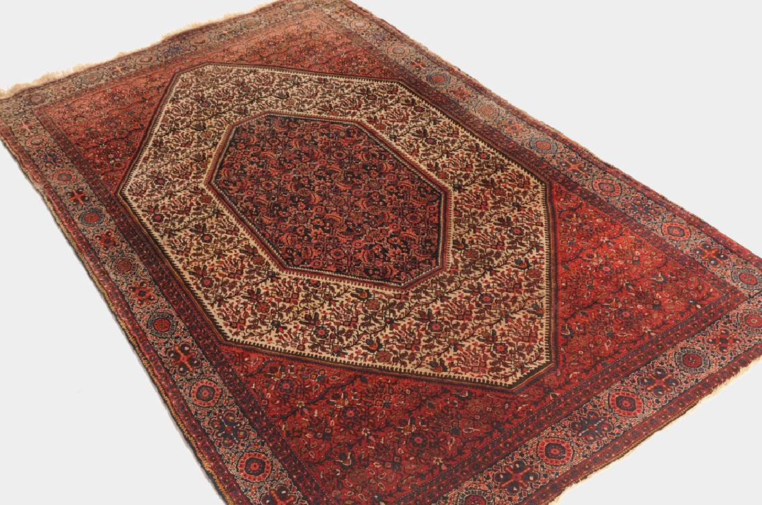 Saruk-Farahan Z-Iran, um 1900. Im weissen oktogonalen