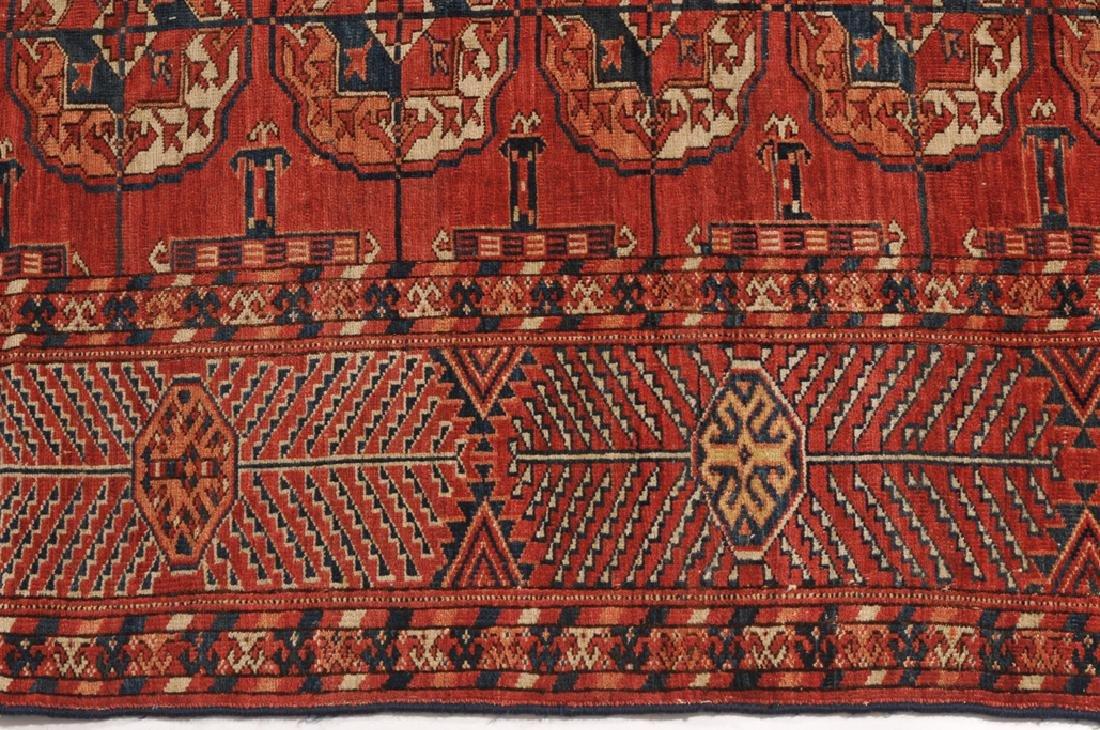 Tekke-Buchara Turkmenistan, um 1910. Auf braunrotem - 7