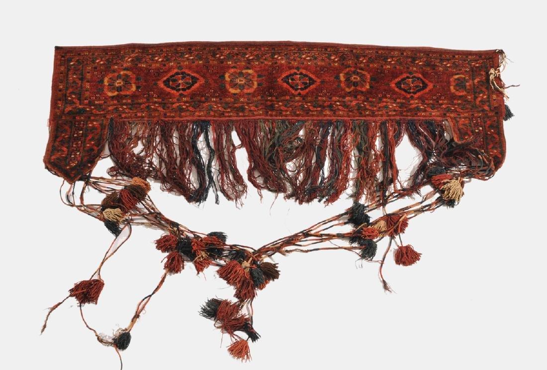 Beshir-Kapunuk N-Afghanistan, um 1900. Gereihte