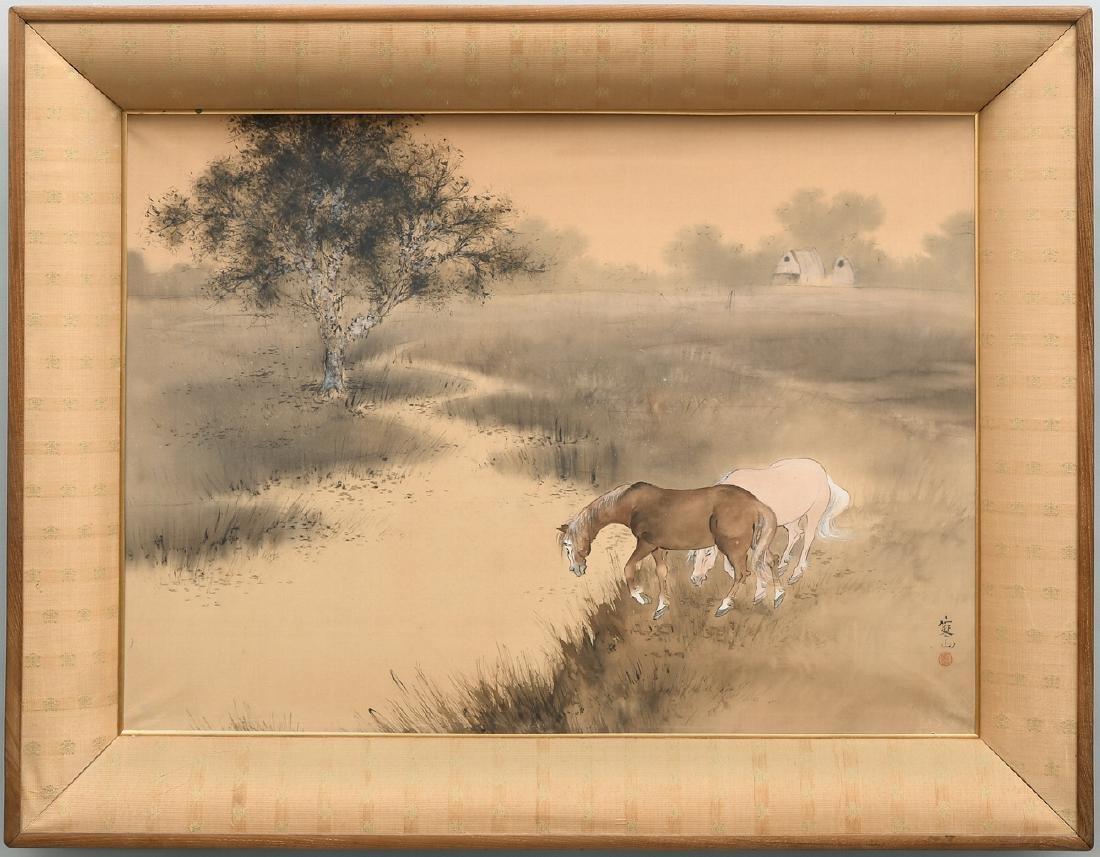 Ikeda, Kanzan (geb. 1878) Japan. Tusche und Farbe auf