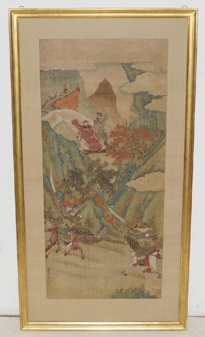 Nach Jiao Bingzhen (1689–1726) China. Tusche und Farbe - 10
